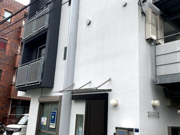 板橋区蓮沼町Y様Rフラット 外壁塗装工事